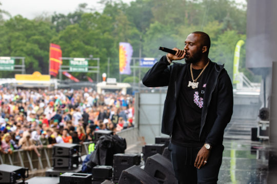 Headie One at Longitude Festival by Anamaria Meiu www.amphotostar.com / AM Photo Star