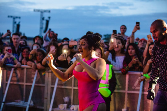 Cardi B at Longitude Festival by Anamaria Meiu www.amphotostar.com / AM Photo Star